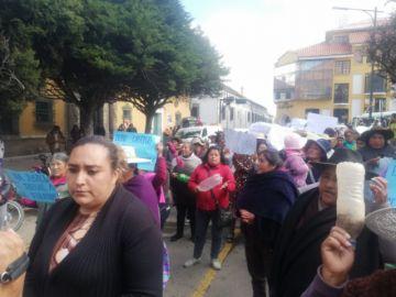 Marcha pide máxima sanción para presunto violador