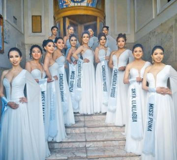 Ayer presentaron a las candidatas a los títulos de Miss y Señorita Potosí