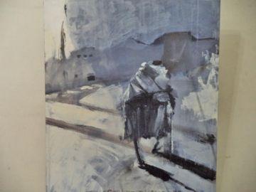 Abre muestra de dibujo realista y pintura en el museo de UATF