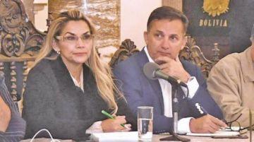 """Jeanine Áñez """"deja sin efecto"""" la designación de Fernando López"""