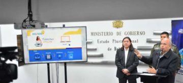 Migración presenta la plataforma para tramitar visa mediante internet