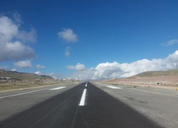 Hoy se verá viabilidad de la pista del aeropuerto local