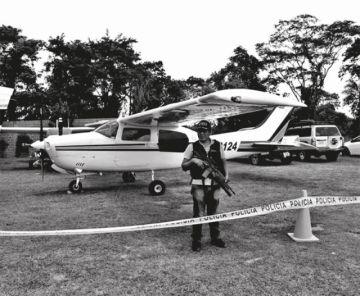 Secuestran seis avionetas en un operativo en Santa Cruz