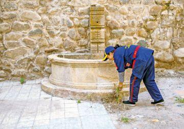 Comenzó la limpieza de fachada de la Catedral