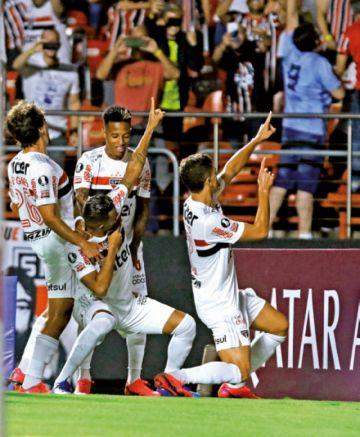 """Sao Paulo vence a Liga de Quito en el estadio """"Morumbí"""""""