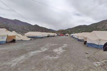 En Cotagaita, 22 familias  están viviendo en carpas