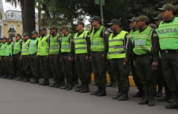 Destinan 10 mil efectivos policiales para controlar fronteras y aeropuertos