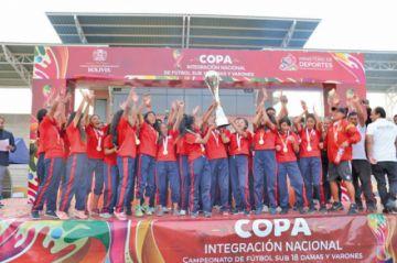 Potosí se corona campeón de la Copa Integración Nacional