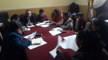 Alcalde y concejales analizan acciones frente al coronavirus