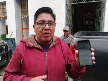 Alcalde denuncia amedrentamiento de julio Burgoa a personal de la Alcaldía