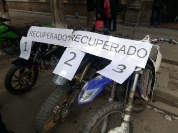 Recuperan dos motocicletas fueron robadas en Potosí