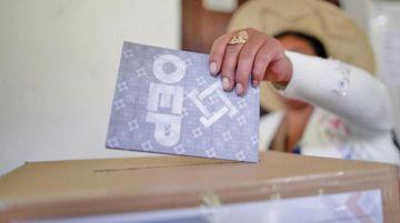 Intención de voto: Arce sigue primero, Mesa es segundo y Áñez tercera