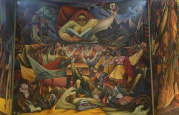 Se salda deuda histórica con el mayor muralista
