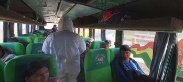 Sedes controla pasajeros que entran y salen de la ciudad