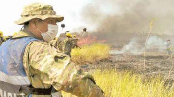 La Fundación Solón alerta de 673 focos de calor en todo del país