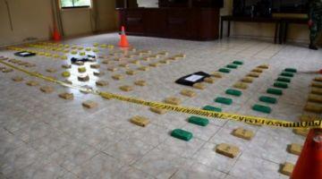 Aprehenden a 8 policías por el robo de 7 kilos de cocaína