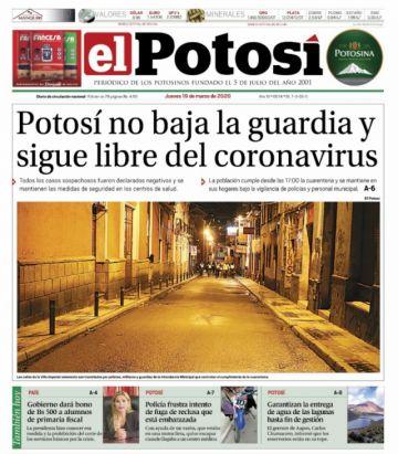 El Bono Familia acapara las portadas que siguen infestadas de coronavirus