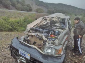 Accidente de tránsito deja un muertos y cinco heridos