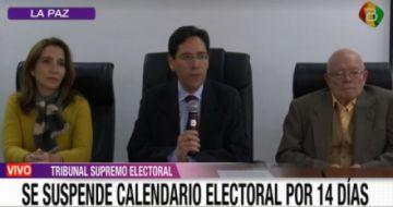 TSE suspende calendario electoral ante emergencia por el COVID-19