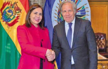 Bolivia celebra reelección de Luis Almagro en la Secretaría General de OEA