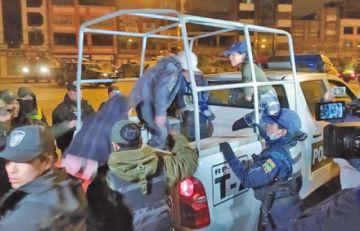 Ministerio Público imputa a 17 personas por disturbios y agresión a policías