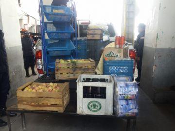 Intendencia decomisa productos que eran ofrecidos pese a cuarentena