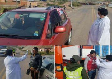 Personas que entren de Oruro a Potosí serán aisladas