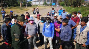 Cochabamba: vecinos de La Tamborada se declaran en alerta y advierten con romper cuarentena