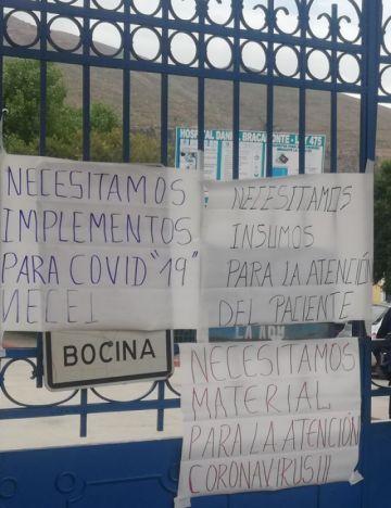 Gobernación lamenta que el Gobierno no distribuya suficiente ayuda a Potosí para combatir el coronavirus