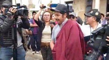 Urquizu renunciará al cargo de Gobernador con la esperanza de recuperar su libertad