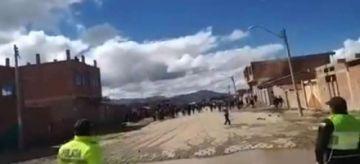 En Oruro se resisten a la cuarentena de COVID-19