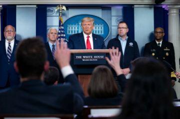 """Trump quiere """"reabrir"""" la economía de EE.UU. el 12 de abril pese al COVID-19"""