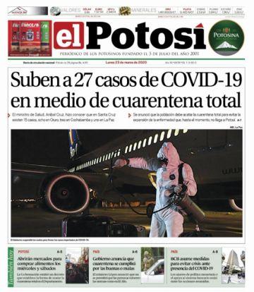 Cada vez más periódicos dejan de circular por el coronavirus