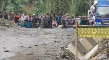"""Denuncian que 160 """"avasalladores"""" ingresaron por la fuerza al Parque Nacional Carrasco"""