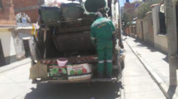 Trabajadores de Aseo piden mayor atención a las autoridades durante la emergencia sanitaria.