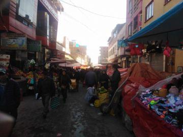 El Mercado Uyuni está concurrido desde temprano