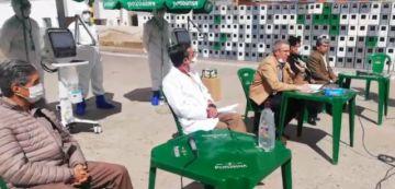 Cervecería Nacional Potosí entrega dos respiradores