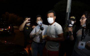 Detienen al exfutbolista peruano Nolberto Solano por burlar la cuarentena
