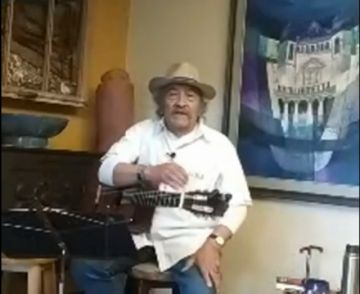 Vea al potosino Luis Rico en un concierto privado desde su casa