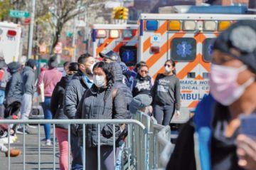 Nueva York es el epicentro del coronavirus en Estados Unidos