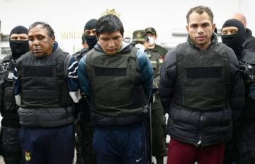 Fuerza anticrimen recaptura a reo brasileño que fugó del penal de Chonchocoro