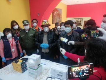 Gobierno entrega implementode bioseguridad al Sedes