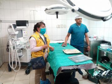 Inspeccionan hospital San Cristóbal y evidencian falta de equipamiento