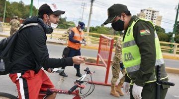 La Paz: 22 policías cumplen aislamiento por sospecha de coronavirus