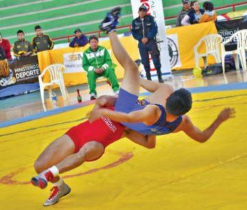 La lucha amateur, sin ninguna posibilidad de llegar a los Juegos Olímpicos