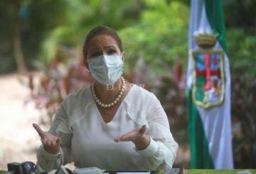Desde hoy Angélica Sosa es la alcaldesa interina de Santa Cruz