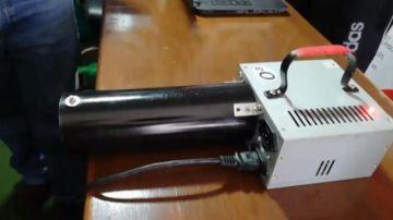 Ingenieros prueban un generador de ozono