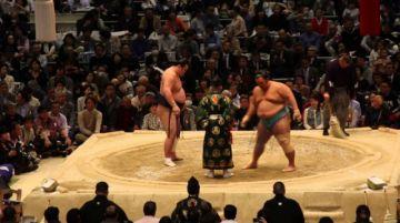 Dos torneos de sumo fueron aplazados en Japón por el coronavirus