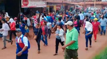 Aprehenden a ocho personas que instaron a quebrar la cuarentena en Riberalta