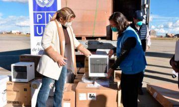 PNUD entrega equipos que multiplicarán capacidad de testeo de coronavirus